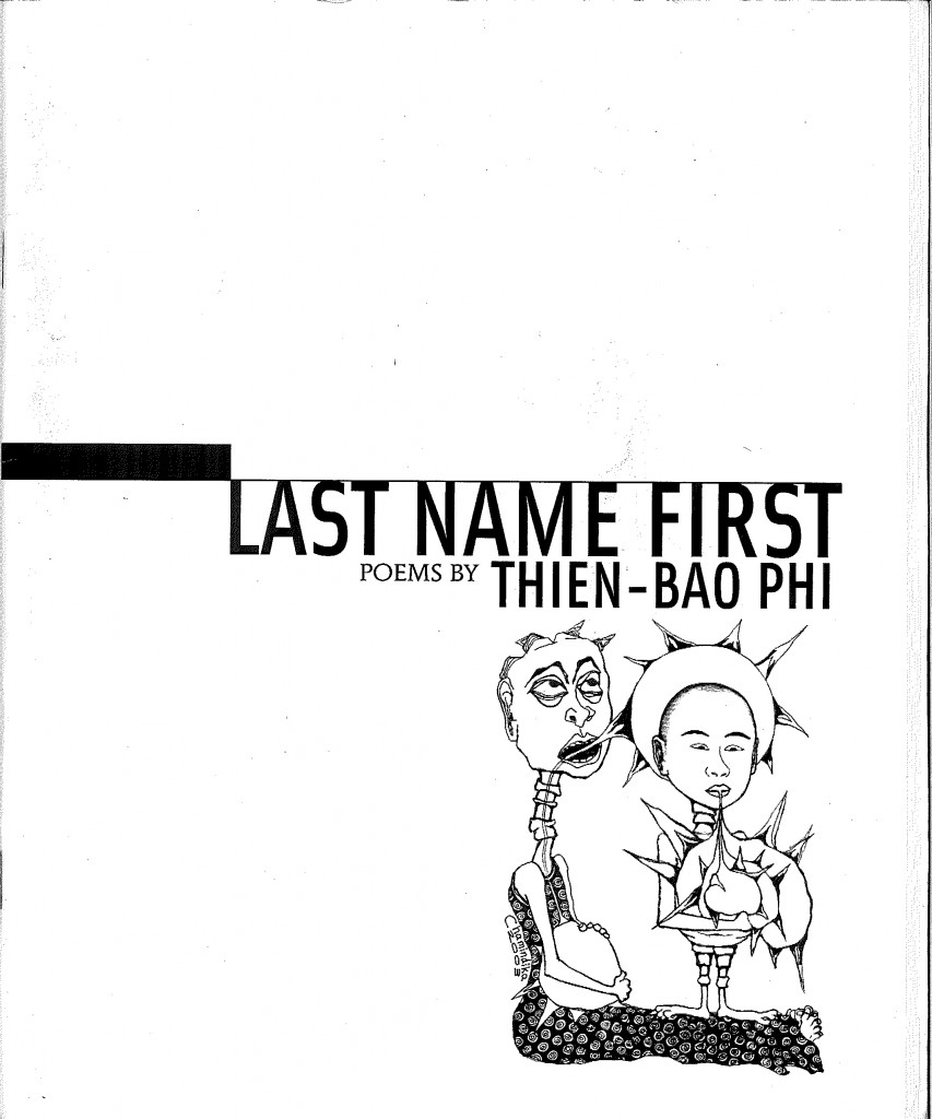 Last Name First (chapbook cover)